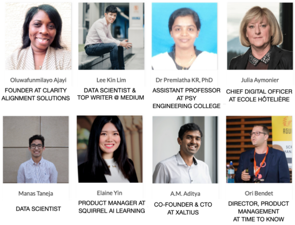 Learn more about the AI for Education 2019 Initiative Committee Members