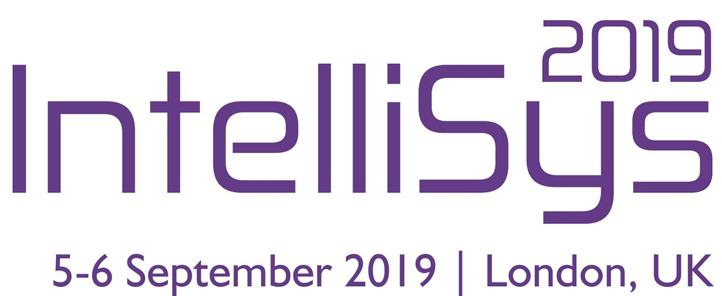 Intelligent Systems Conference (IntelliSys) 2019