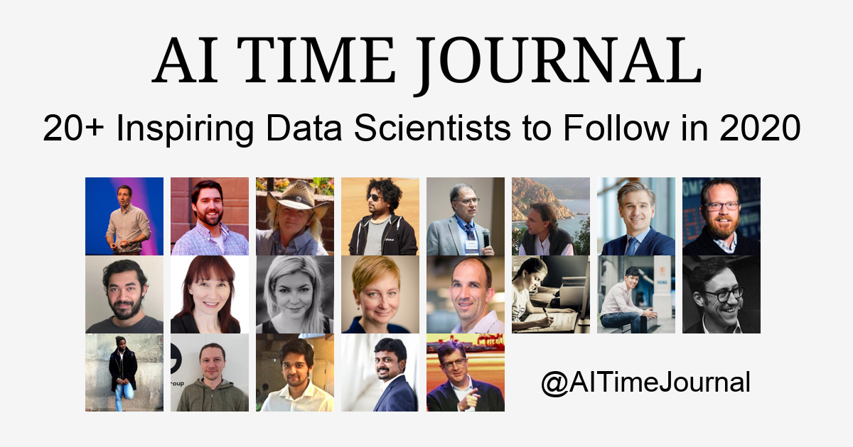 20+ Inspiring Data Scientists to Follow in 2020